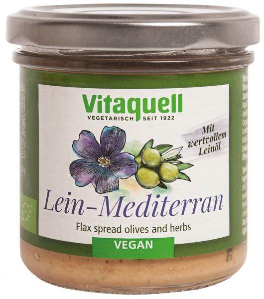 Leinölaufstrich Mediterran Bio, 130 g