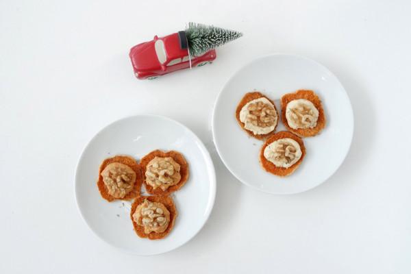 Süßkartoffel Crossies