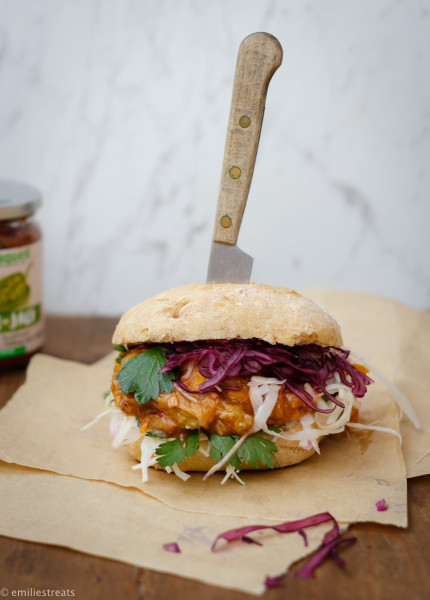 Pulled Zucchini Burger