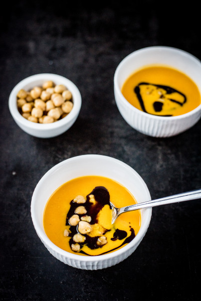 Kürbis-Chili Suppe