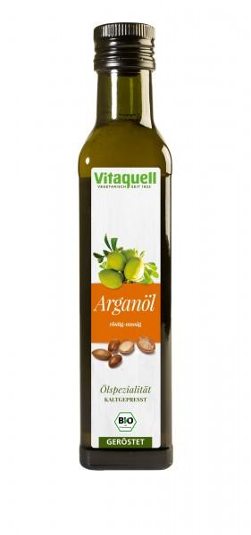 Argan-Öl Bio, geröstet kaltgepresst 250 ml
