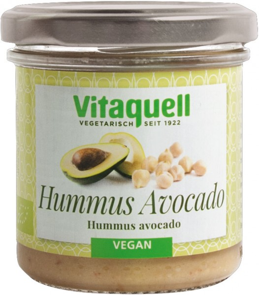 Hummus Avocado Bio, 130 g