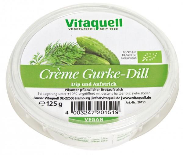 Crème Gurke-Dill, 125 g