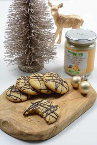 Cookies mit Cashew-Genießer-Creme