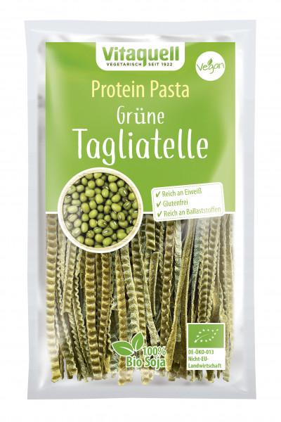 Protein Pasta Grüne Tagliatelle Bio, 200 g