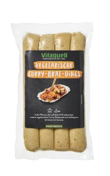 Vegetarische Curry-Brat-Dings, 4 x 80 g