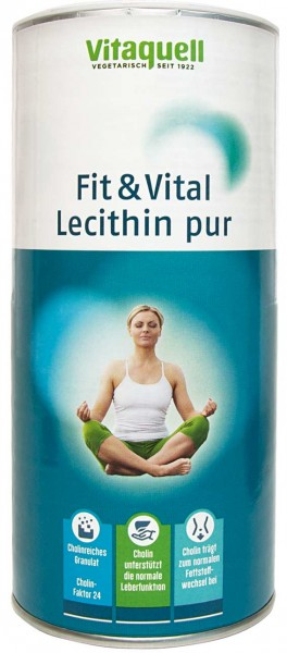 Fit & Vital Lecithin pur 250 g