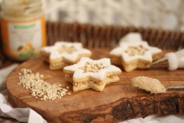 Cashew-Terrassen-Kekse
