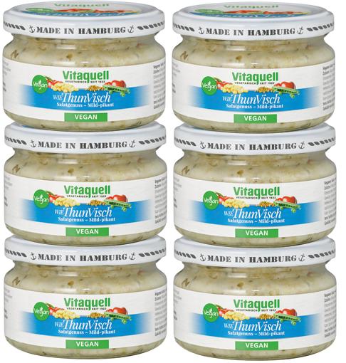 6 x ThunVisch Salat - vegan, mild-pikant, 180 g
