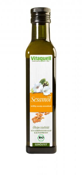 Sesam-Öl Bio, geröstet, kaltgepresst 250 ml