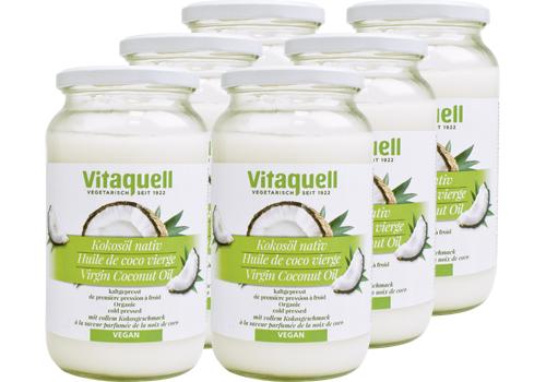 6 x Kokosöl Bio, nativ 860 ml