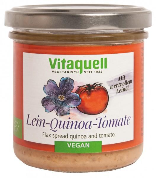 Leinölaufstrich Quinoa-Tomate Bio, 130 g
