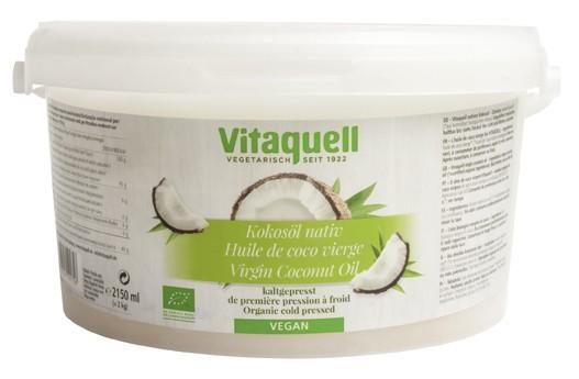 Kokosöl Bio, nativ im 2 kg Eimer