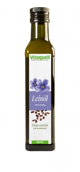 Lein-Öl kaltgepresst, nativ 250 ml