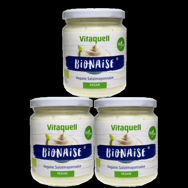 3 x Bionaise - Vegane Salatmayonnaise 250 ml